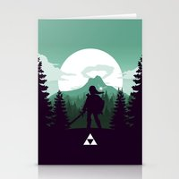 The Legend of Zelda - Green Version Stationery Cards