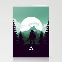 The Legend of Zelda - Green Version Stationery Cards