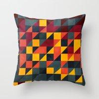 GEO3074 Throw Pillow