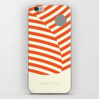 Love And Collision iPhone & iPod Skin