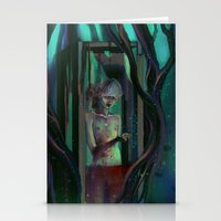 There Is A Demon In Thos… Stationery Cards