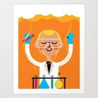 Science is Fun Art Print