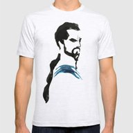 Game Of Thrones - Drogo Mens Fitted Tee Ash Grey SMALL