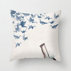 Lucky Shot Throw Pillow