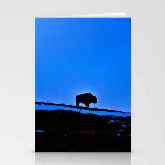 The Last Buffalo Stationery Card