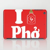 I Heart Pho iPad Case