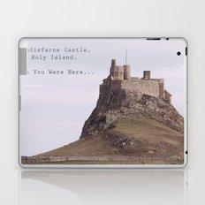 postcard from lindisfarne castle... Laptop & iPad Skin