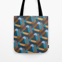 Contrasts In The City Tote Bag