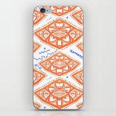 ORANGE LOVE iPhone & iPod Skin