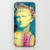 iPhone & iPod Case featuring Caesar Augustus by Tina Stamatopoulou