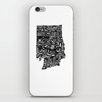 Typographic Washington iPhone & iPod Skin