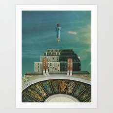 Inner Cities: Being There Art Print