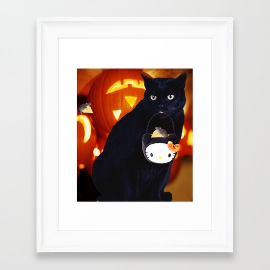 Treats Framed Art Print