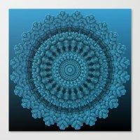 Mandala for the Masses Canvas Print