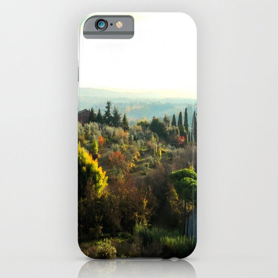 Memories of the Fall (Toscana) iPhone & iPod Case