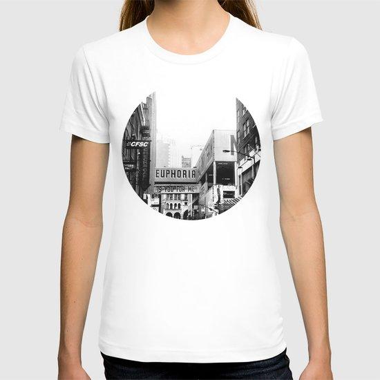 Euphoria Black & White T-shirt