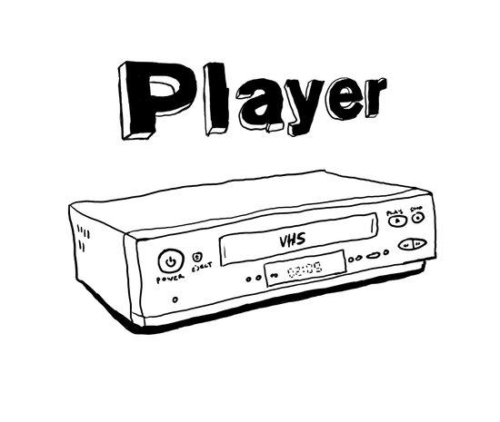 Player Art Print