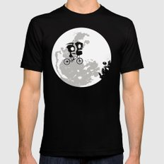 Dib and the E.T Mens Fitted Tee Black SMALL