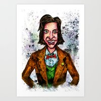 wes anderson Art Prints featuring Wes Anderson by Grant Hunter