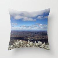 Killington View Throw Pillow