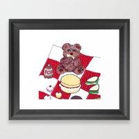 Teddy Bear's Picnic Framed Art Print