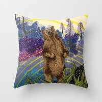 Ursidae Throw Pillow