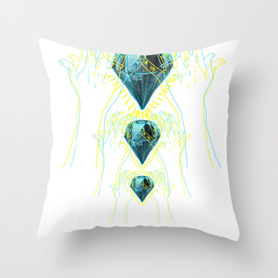 Diamond Throw Pillow