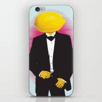 Lemonhead iPhone & iPod Skin