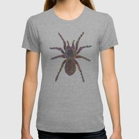 Tarantula Womens Fitted Tee Athletic Grey SMALL