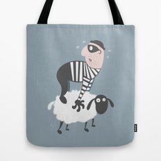 on the LAMb Tote Bag