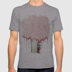 Esia's tree. Mens Fitted Tee Athletic Grey SMALL