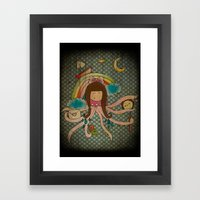 I'm A Little Octopus Framed Art Print