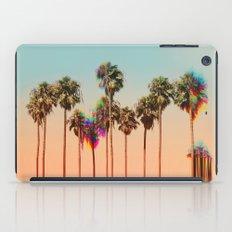 Glitch beach iPad Case