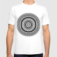 Mandala Tribe Mens Fitted Tee White SMALL