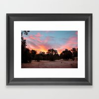 Los Padres Framed Art Print