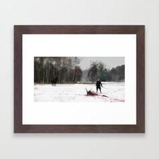 Another Day At Work... L… Framed Art Print