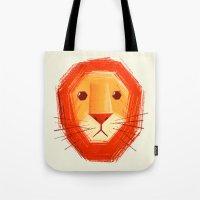 Sad lion Tote Bag
