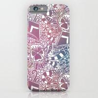 Theta Print-Pastel iPhone 6 Slim Case