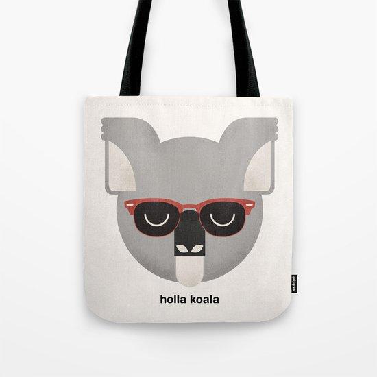 Holla Koala Tote Bag