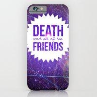 Mortem Et Omnibus Amicis iPhone 6 Slim Case