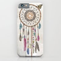 iPhone Cases featuring Lakota (Dream Catcher) by Rachel Caldwell