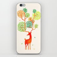 For The Tree Is The Fore… iPhone & iPod Skin