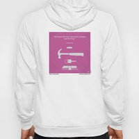 No258 My DRIVE minimal movie poster Hoody