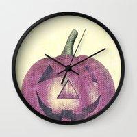 Head Pink  Wall Clock