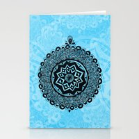 Lucky mandala Stationery Cards