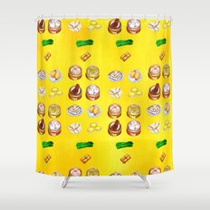 Dim Sum  Shower Curtain