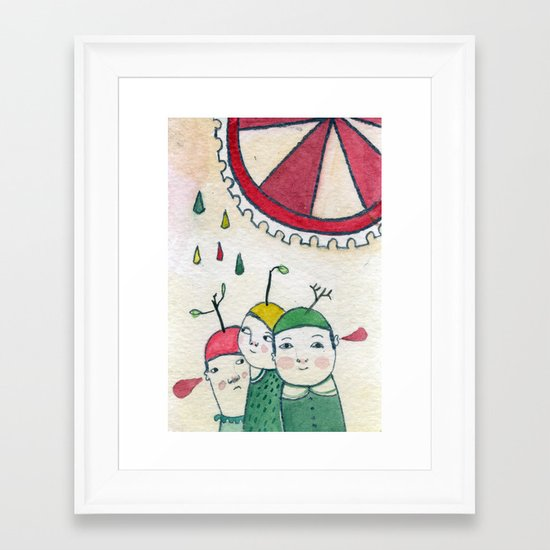 Amis Framed Art Print