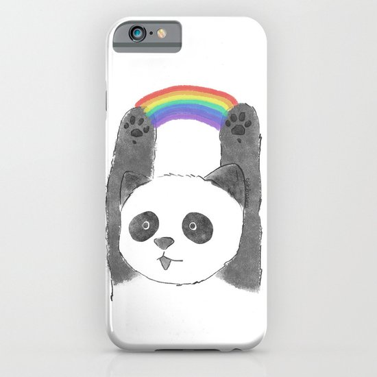 panda beam iPhone & iPod Case