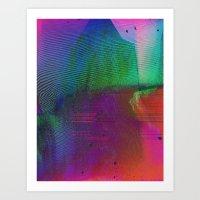 The Rise & Fall Art Print