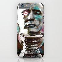 Marlon Brando under brushes effects iPhone 6 Slim Case